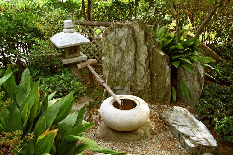 Foto della fontana in stile zen n.12