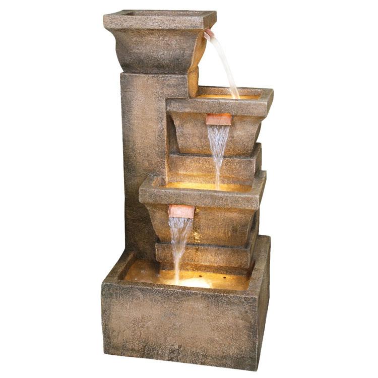 Foto della fontana in stile zen n.20