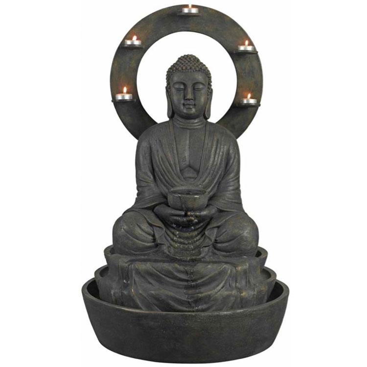 Foto della fontana in stile zen n.36