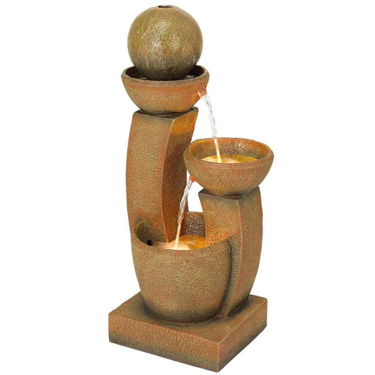 Foto della fontana in stile zen n.39
