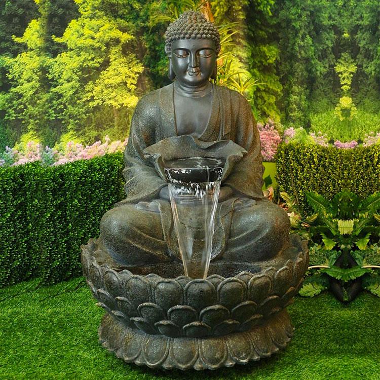 Foto della fontana in stile zen n.44