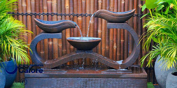 Foto della fontana in stile zen n.47