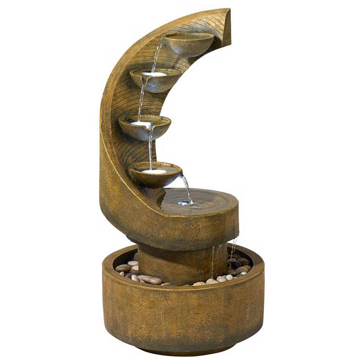 Foto della fontana in stile zen n.49