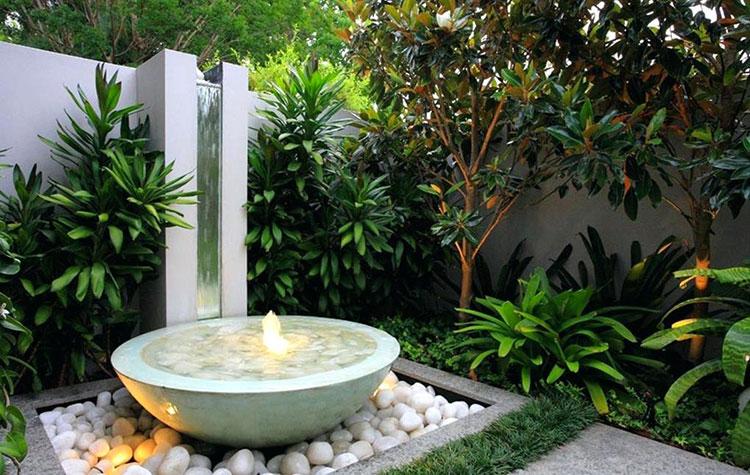 Foto della fontana in stile zen n.50