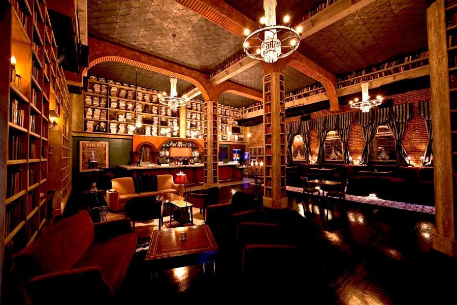 Design del bar Hemingway's Lounge