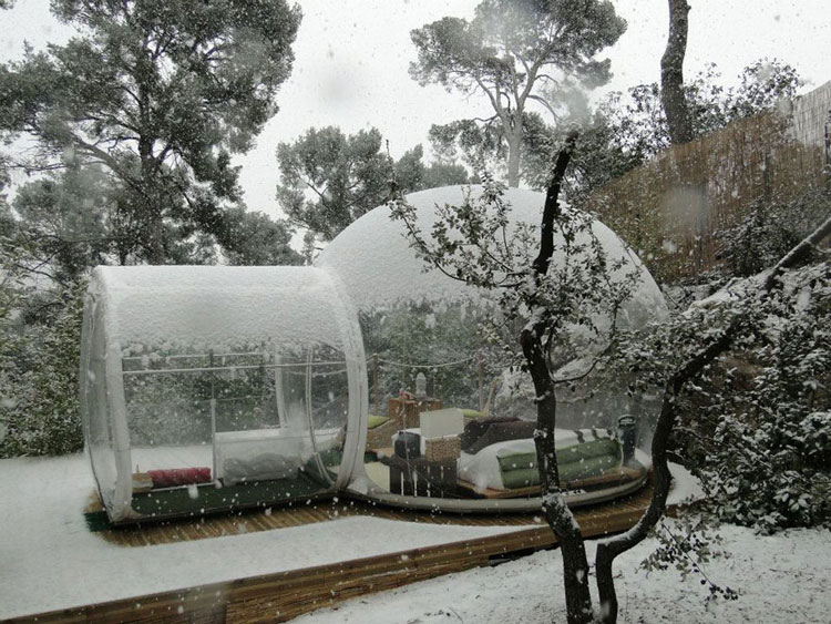 Foto dell'hotel Attrap Reves in inverno
