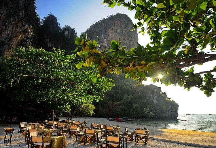 Foto dell'esterno dell'hotel Rayavadee Krabi in Tailandia