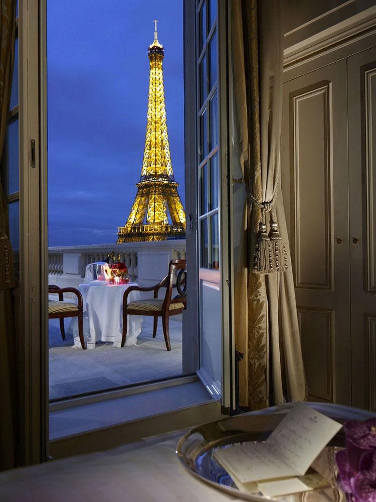 Foto dell'hotel Shangri-La a Parigi