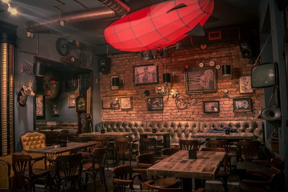 Arredamento del bar Joben Bistro in Romania