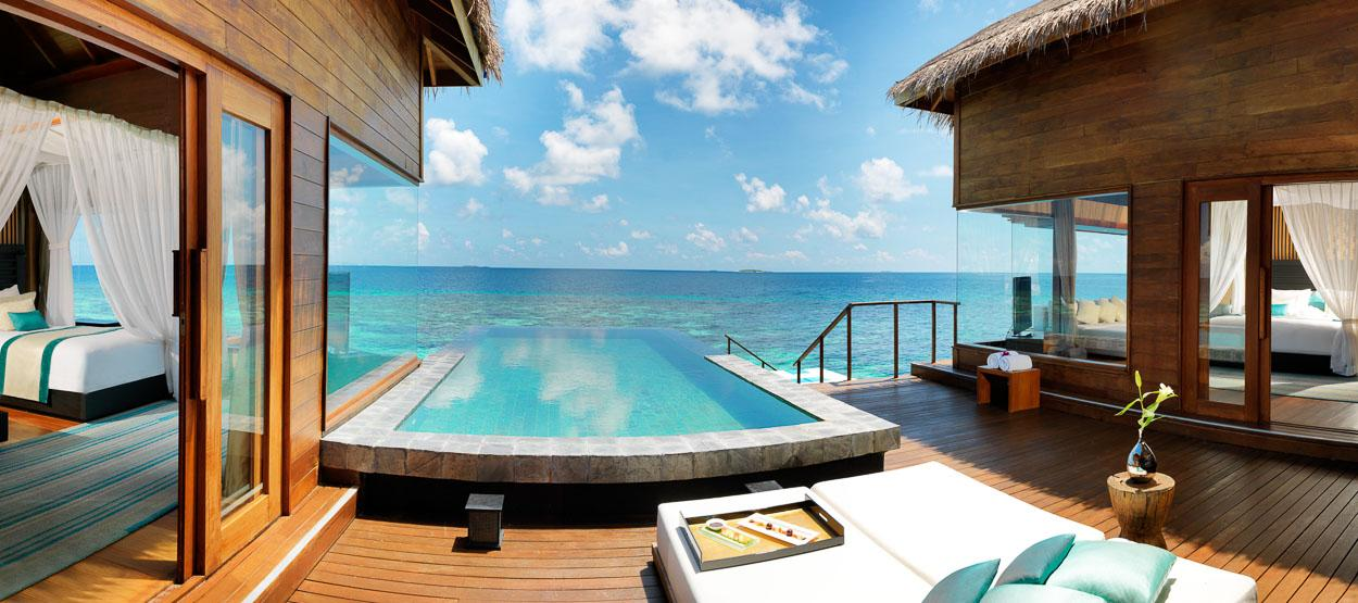 Foto del resort Jumeirah Dhevanafushi alle Maldive