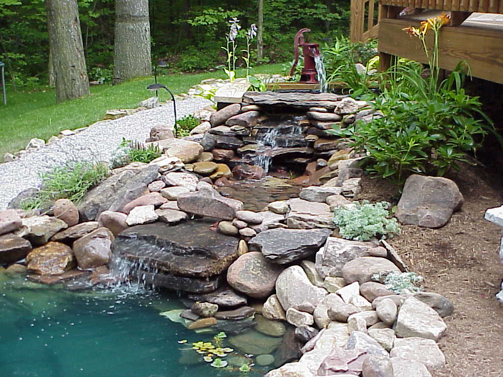 Foto del laghetto da giardino n.05