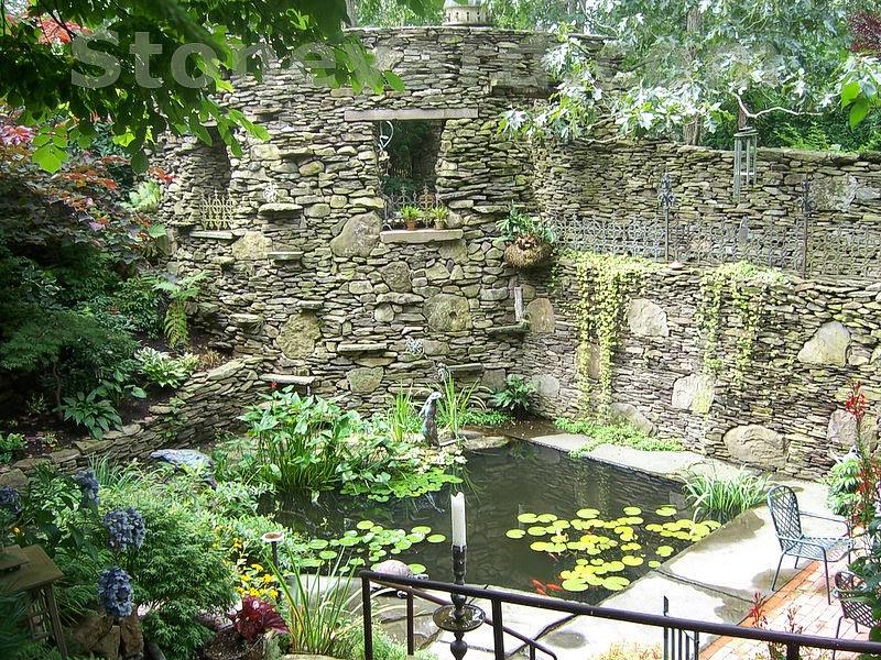 Foto del laghetto da giardino n.08
