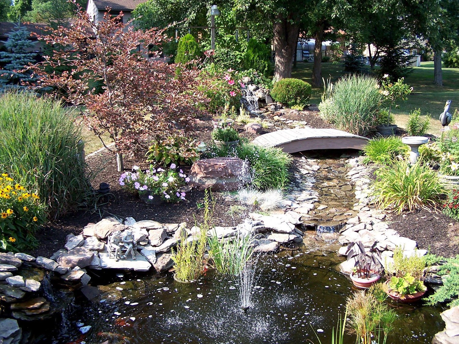 Easy backyard pond ideas various design inspiration for backyard Design pond