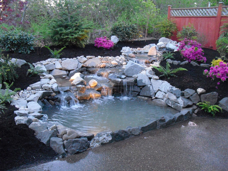 Cascata Per Laghetto Da Giardino : Foto di bellissimi laghetti da giardino mondodesign