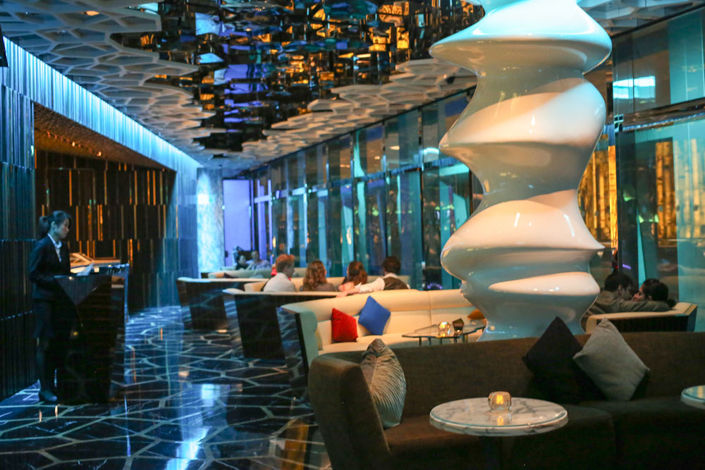 Design dell'Ozone Bar in Cina