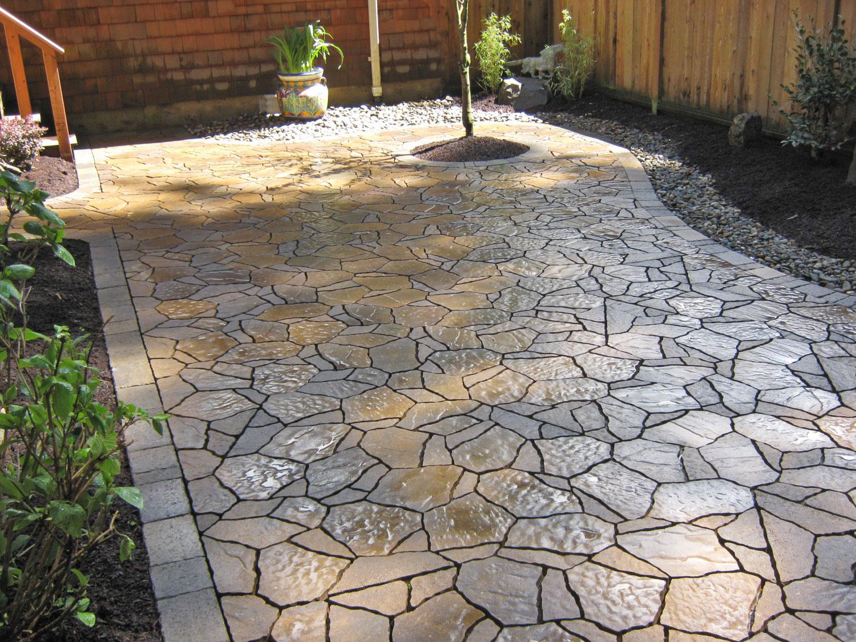 Pavimento per esterni in pietra n.16