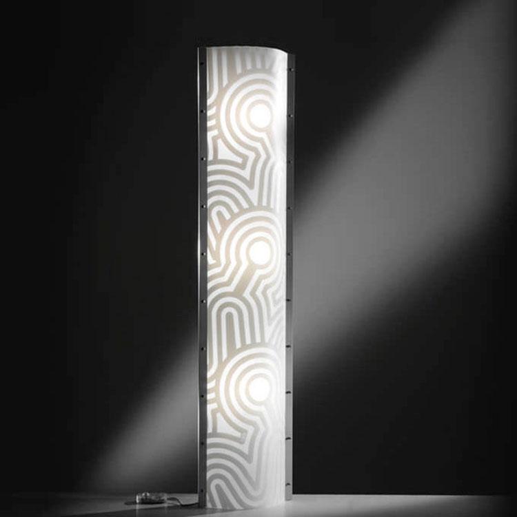 Lampada da terra Venti di Alessandro Mendini - Slamp