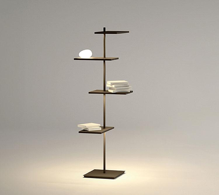 Lampada da terra Suite di Jordi Vilardell & Meritxell Vidal - Vibia