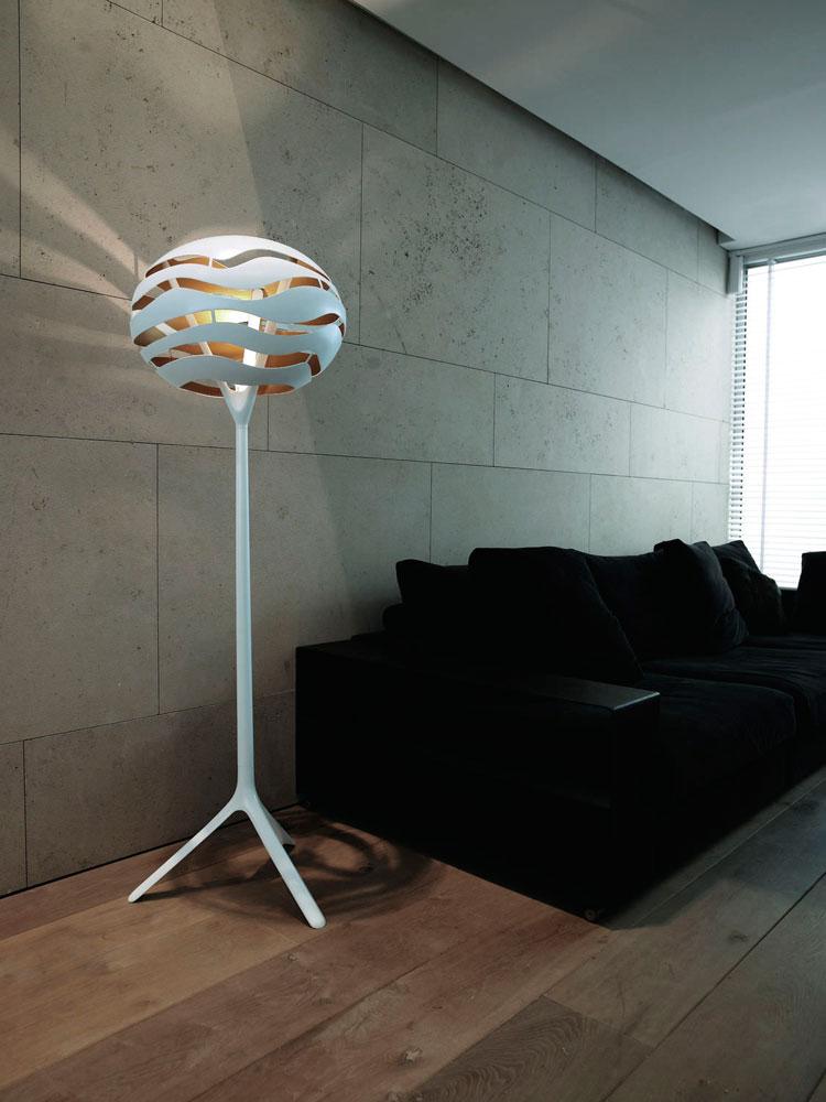 Lampada da terra Tree Series F di Werner Aisslinger - B.LUX