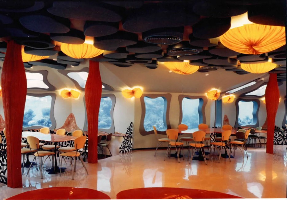 Arredamento del Red Sea Bar in Israele