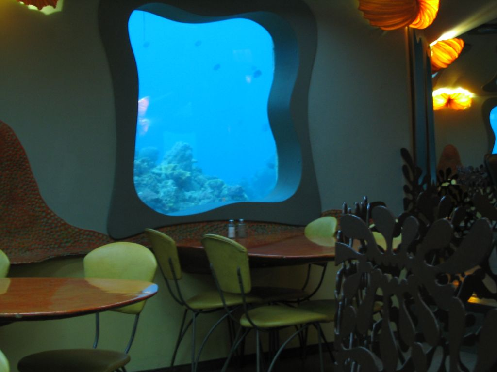 Design del Red Sea Bar in Israele