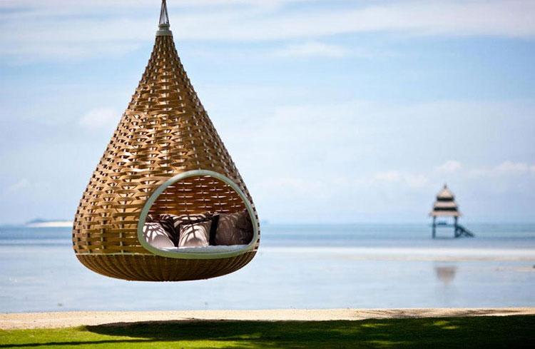 Particolare del resort Dedon Island alle Filippine