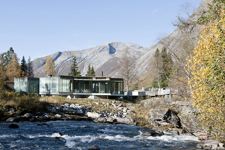 Foto dell'esterno del resort Juvent Landscape in Norvegia