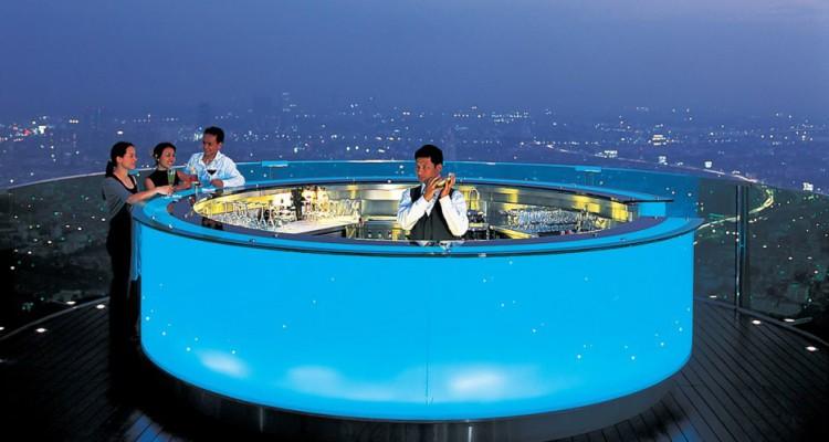 Design dello Sky Bar a Bangkok