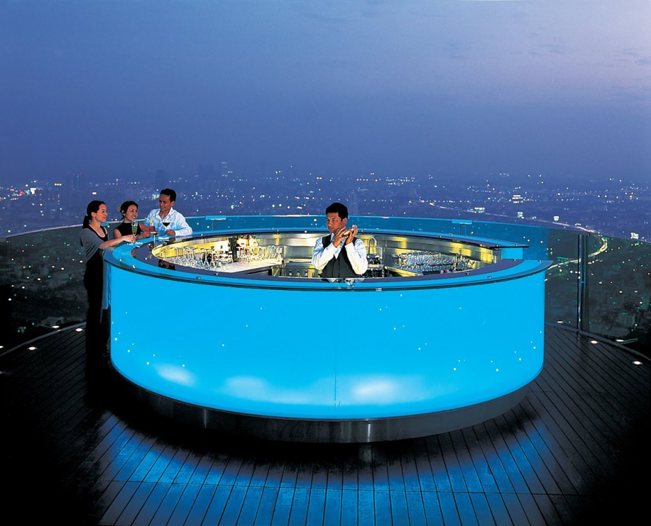 Design dello Sky Bar a Bangkok