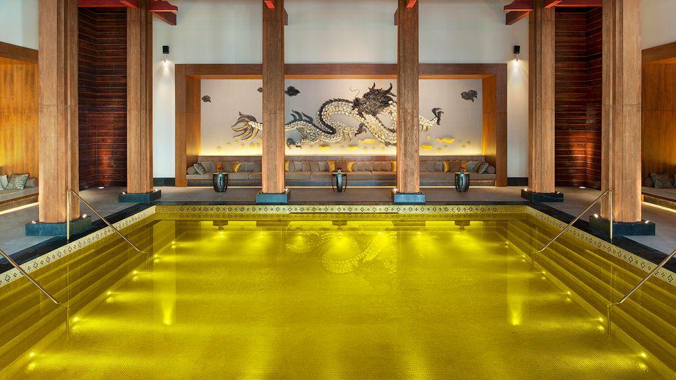 Foto della piscina del St Regis Lhasa Resort in Cina