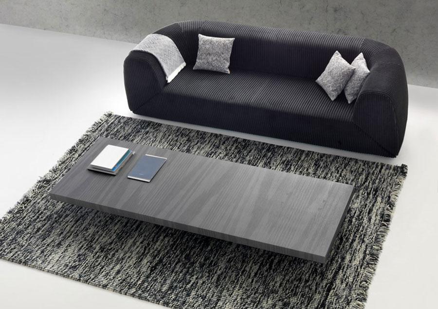 Modello di tavolino basso da salotto particolare n.17