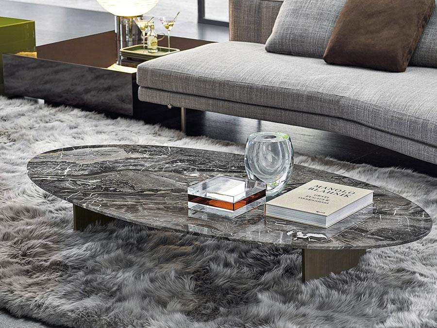 Modello di tavolino basso da salotto particolare n.20