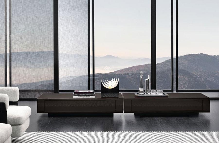 Modello di tavolino basso da salotto particolare n.22