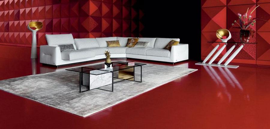 Modello di tavolino basso da salotto particolare n.27