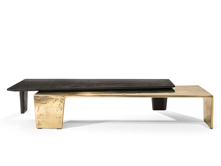 Modello di tavolino basso da salotto particolare n.30