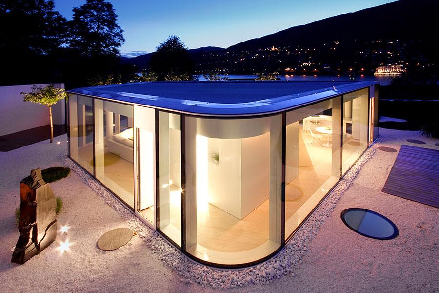 Foto della casa prefabbricata Lake Lugano House n.1