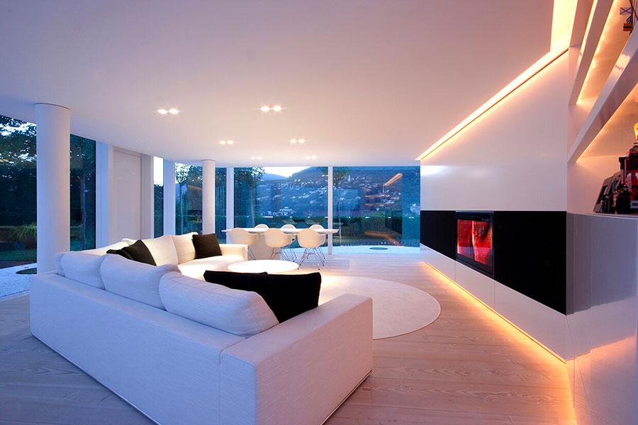 Foto della casa prefabbricata Lake Lugano House n.4