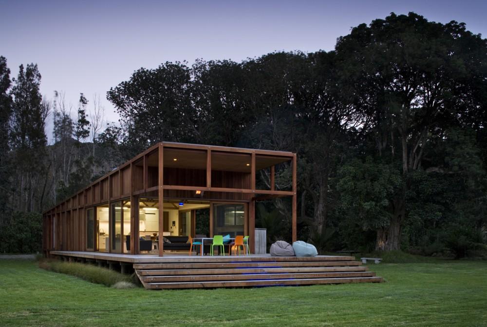 Foto della casa di legno in stile moderno n.12