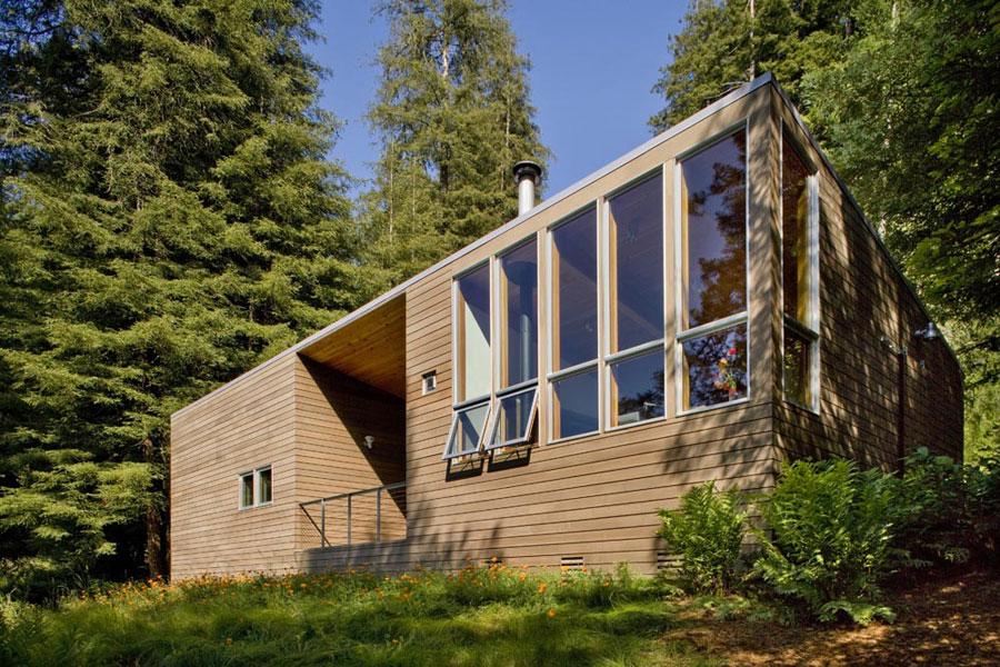 Foto della casa di legno in stile moderno n.13