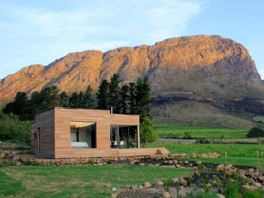 Foto della casa di legno in stile moderno n.17