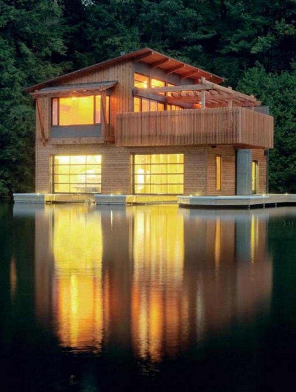 Foto della casa di legno in stile moderno n.18