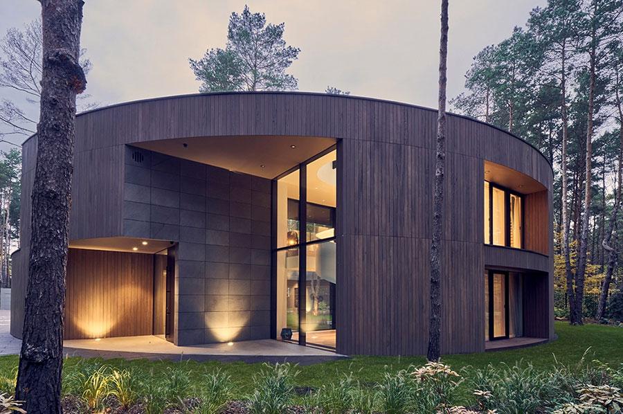 Foto della casa di legno in stile moderno n.21