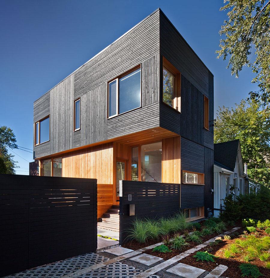 Foto della casa di legno in stile moderno n.30