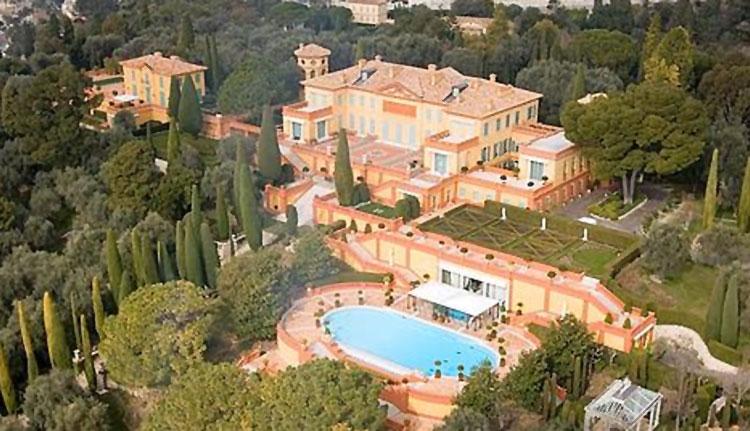 Foto di Villa Leopolda tra le case più costose al mondo