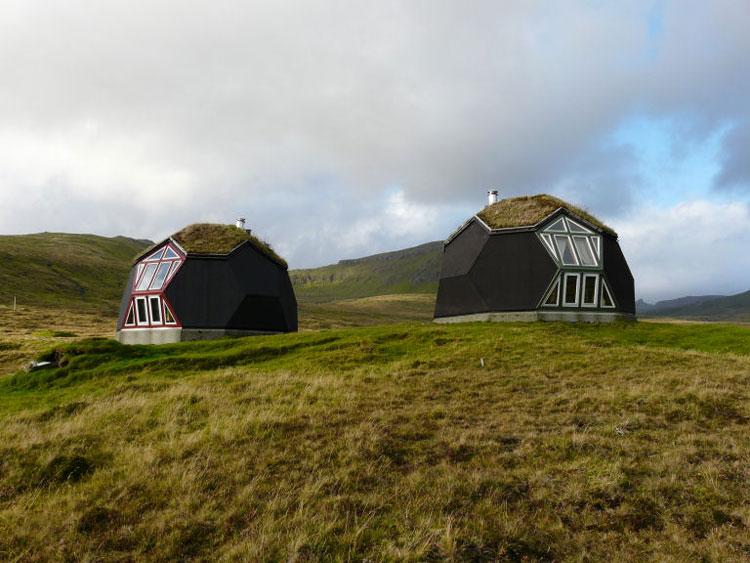 Foto dell'esterno della casa prefabbricata Easy Dome