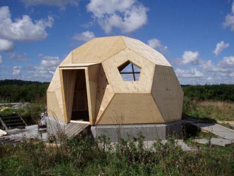 Sviluppo della casa prefabbricata Easy Dome