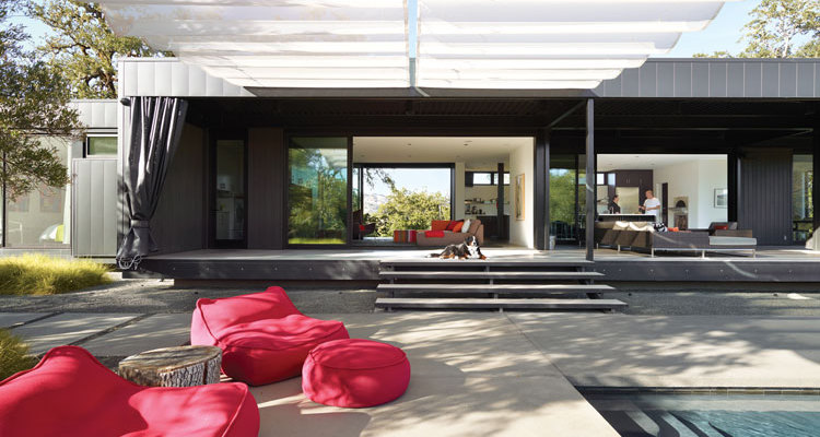 12 esempi di bellissime case prefabbricate moderne for Piani e progetti di case contemporanee