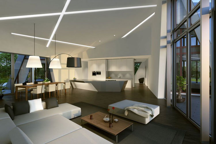 12 esempi di bellissime case prefabbricate moderne for Progetti case moderne interni