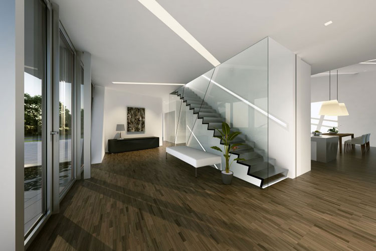 12 esempi di bellissime case prefabbricate moderne for Design interni case moderne