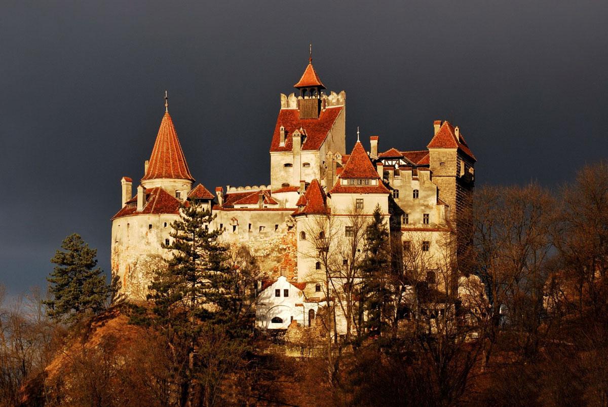Immagine del castello Bran in Romania